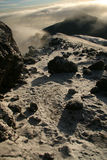 De Piek van Kilimajaro, Afrika stock foto's