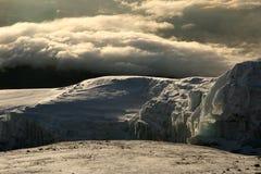 De Piek van Kilimajaro, Afrika royalty-vrije stock afbeelding
