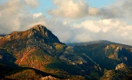 De piek van Kutelka in Bulgaarse Balkan bergen Stock Afbeeldingen