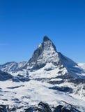 De piek van Matterhorn Stock Fotografie