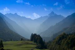 De Piek van Mountin in Beieren Stock Foto