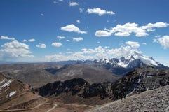 De Pieken van de Andes Royalty-vrije Stock Foto's