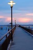 De Pier die van Labrador 1 gelijk maakt Stock Foto's