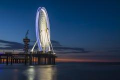 De pier Scheveningen Χάγη Στοκ Εικόνες