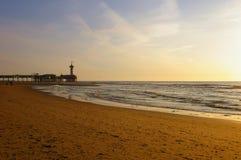 De Pier à Scheveningen les Hollandes Photographie stock libre de droits