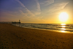 De Pier in Scheveningen the Netherlands Royalty Free Stock Images
