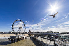 De Pier at Scheveningen Stock Image