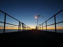 De pier van Ceduna Royalty-vrije Stock Afbeelding