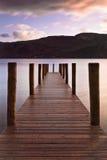 De Pier van Derwent Royalty-vrije Stock Fotografie
