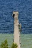 De pier van het Yorkeschiereiland stock foto's