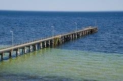 De pier van het Yorkeschiereiland royalty-vrije stock fotografie