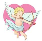 De pijl van de Cupido Stock Afbeelding