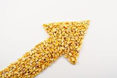 De Pijl van het graan Stock Foto's