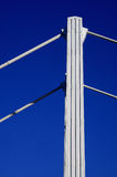 De pijler van de brug royalty-vrije stock afbeeldingen