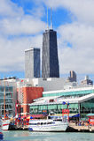De Pijler van de Marine van Chicago Stock Afbeeldingen