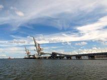 De Pijler van de steenkool Royalty-vrije Stock Foto