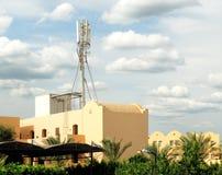 De pijler van de telecommunicatie Royalty-vrije Stock Foto