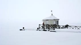 De pijler van de winter Royalty-vrije Stock Afbeelding