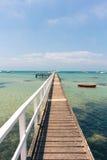 De pijler van de zomer stock foto