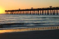 De Pijler van de zonsopgang Stock Fotografie
