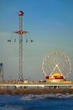 De Pijler van het Genoegen van Galveston Stock Foto
