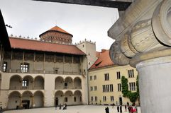 De pijler van het Hof en van de kolom Royalty-vrije Stock Foto