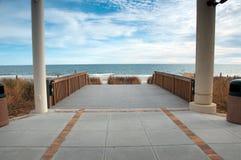 De Pijler van het Strand van de mirte royalty-vrije stock foto