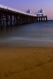 De Pijler van het Strand van de Ruiter van de branding Royalty-vrije Stock Foto