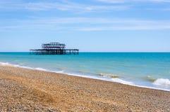 De Pijler van het westen, Brighton Stock Afbeeldingen