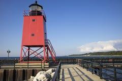 De Pijler van het Zuiden van Charlevoix, Michigan Stock Foto's
