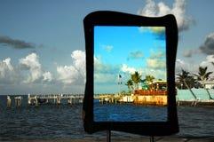 De pijler van Key West Stock Foto