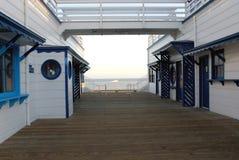De Pijler van Malibu stock fotografie