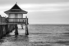 De Pijler van Napels, Napels Florida stock fotografie
