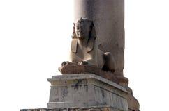 De pijler van Pompey `s in Alexandrië stock foto's