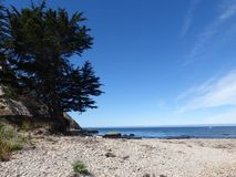 De pijler van santamonica in Californië stock fotografie