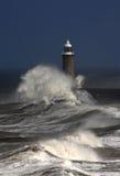 De Pijler van Tynemouth stock fotografie