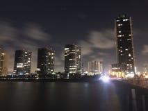 De pijlermening van Miami Stock Foto's
