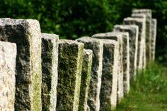 De pijleromheining van de rots royalty-vrije stock fotografie
