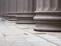De Pijlers van Archictectural Stock Afbeelding