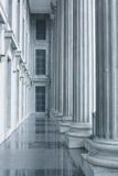 De Pijlers van de wet en van de Orde in het Hooggerechtshof Stock Afbeeldingen