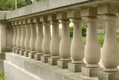 De pijlers van het cement Stock Afbeeldingen