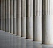 De pijlers van Stoa van Attalos Royalty-vrije Stock Afbeelding