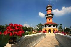 De Pijn Aisawan, rayal de zomerpaleis, Thailand van de klap Royalty-vrije Stock Fotografie