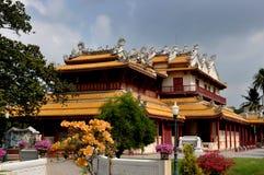 De Pijn van de klap, Thailand: Chinees Paviljoen bij Paleis Stock Foto's
