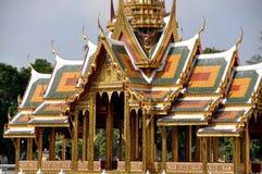De Pijn van de klap, Thailand: Het Paviljoen van het Paleis van de zomer Royalty-vrije Stock Afbeelding