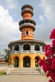De Pijn van de klap, Thailand: Waarnemingscentrum in Royal Palace Stock Foto's
