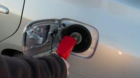 De Pijp van de brandstofpost stock videobeelden