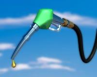 De pijp van de benzinepomp Royalty-vrije Stock Afbeeldingen