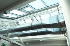 De pijp van de ventilatie stock foto