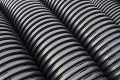 De pijpen van de drainage Royalty-vrije Stock Foto